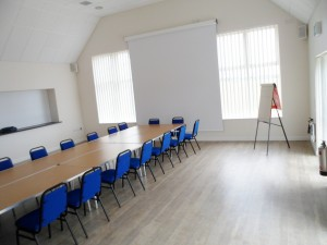 Boardroom style set-up in Function Room