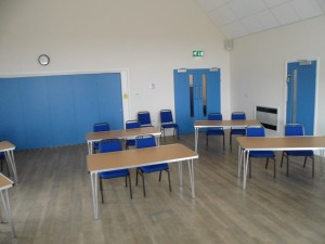 Classroom style in Function Room