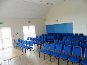 Theatre style layout in Function Room
